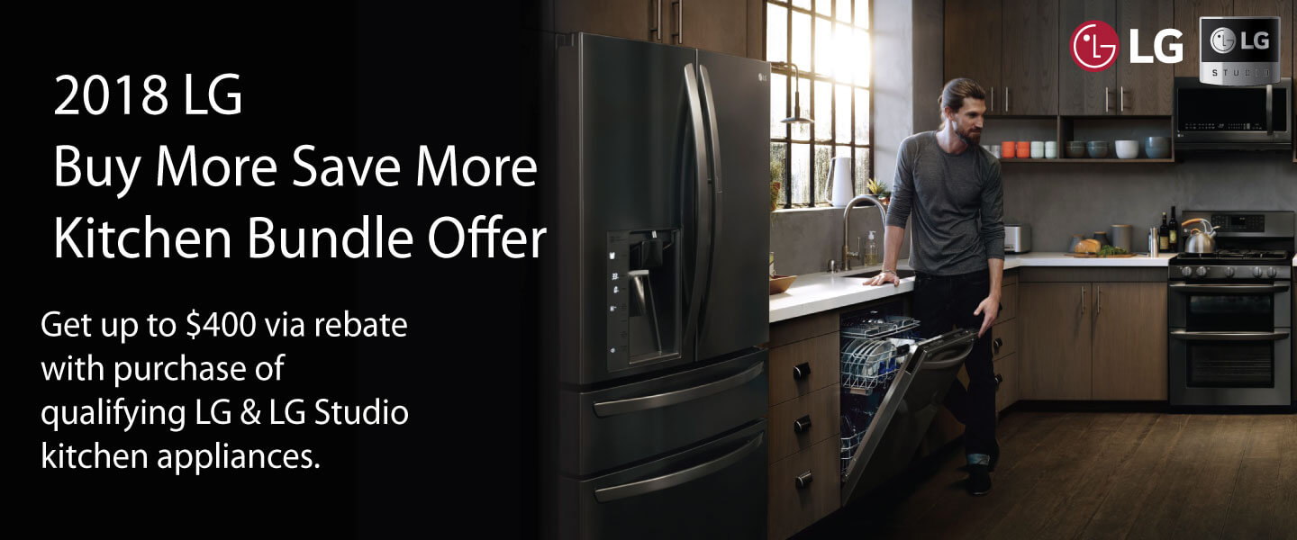 2018 LG Buy More Save More Kitchen Bundle Offer