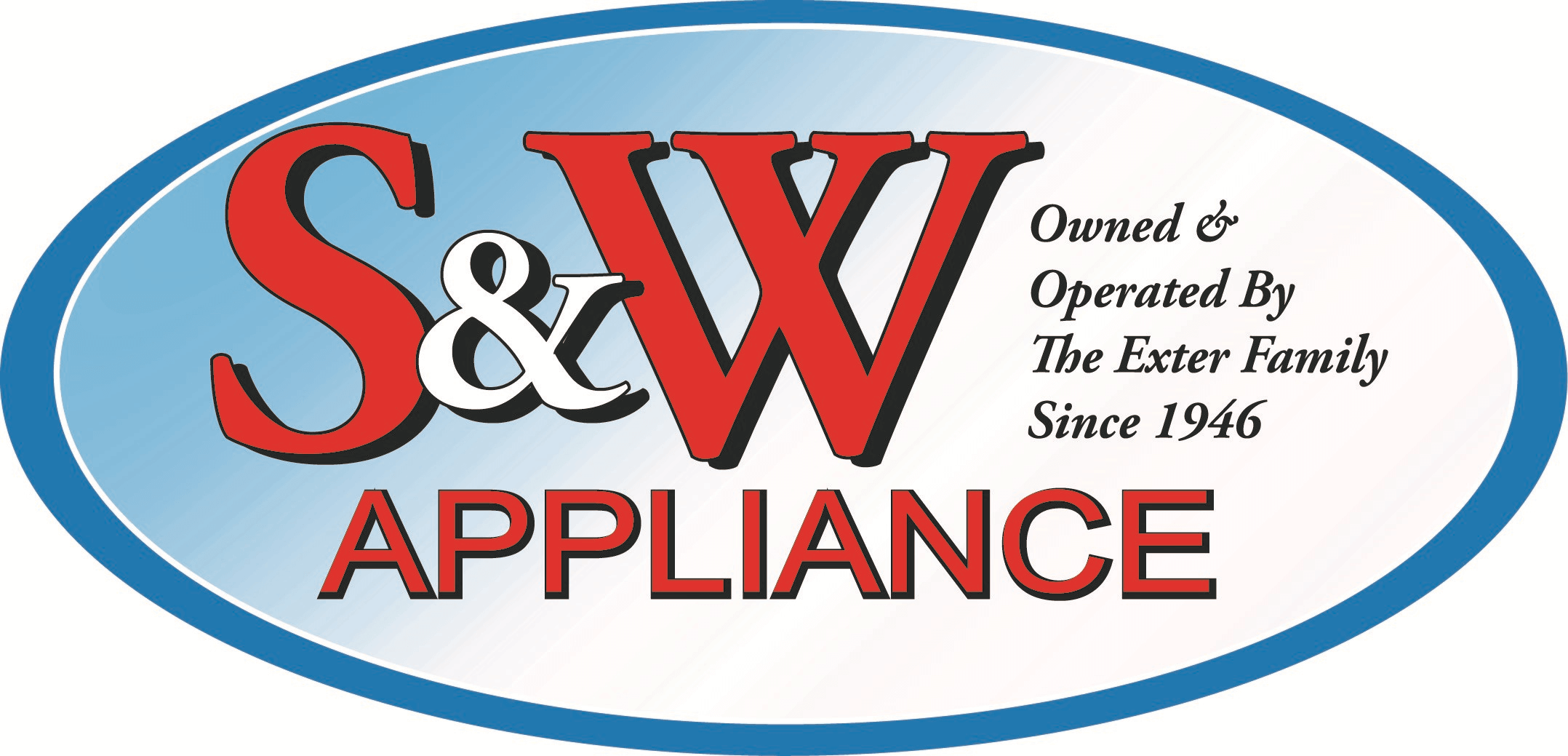 S&W TV & Appliance Logo